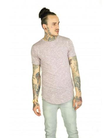 T-shirt simple bordeaux et élastique Listrado
