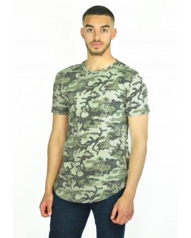 T-shirt militaire made in italy