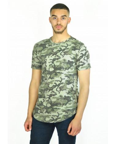 T-shirt long militaire streetwear Soldado