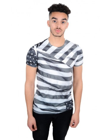 T-shirt simple motif America