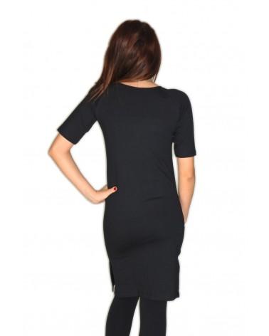 Robe/tunique streetwear fendue côté