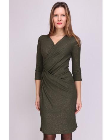 Robe made in France vert kaki