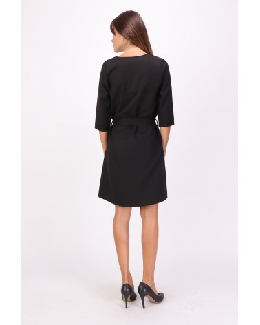 Robe noire made in France