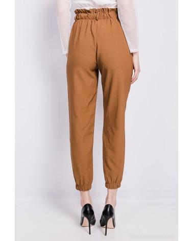Pantalon made in Italy camel